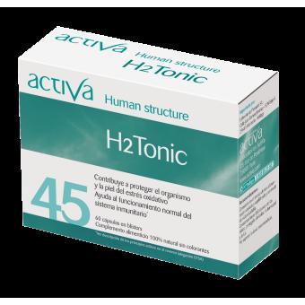 Complemento Alimenticio H2Tonic Activa Human Structure   Produits Nutritifs